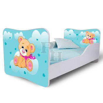 maci_kek_Noby kiságy, gyerekágy a kislányok szobájába