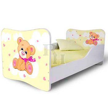 maci_sarga_Noby kiságy, gyerekágy a kislányok szobájába