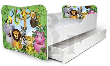 zoo.Noby kiságy, gyerekágy a kislányok szobájába